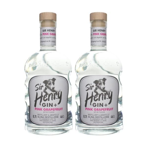 Sir Henry Gin | 2er-Paket | mit Grapefruit | 0,7 L