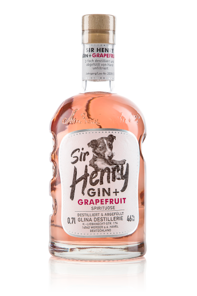 Sir Henry Gin mit Grapefruit 0,7 L