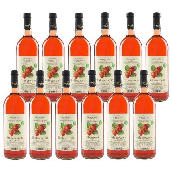 12x Erdbeerwein