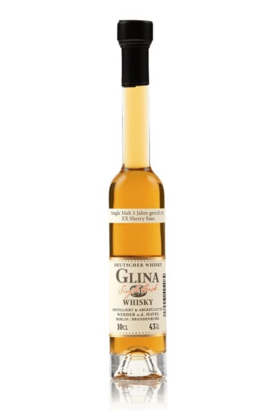 Sherry Fass 0,1 Glina Whisky Vroderseite
