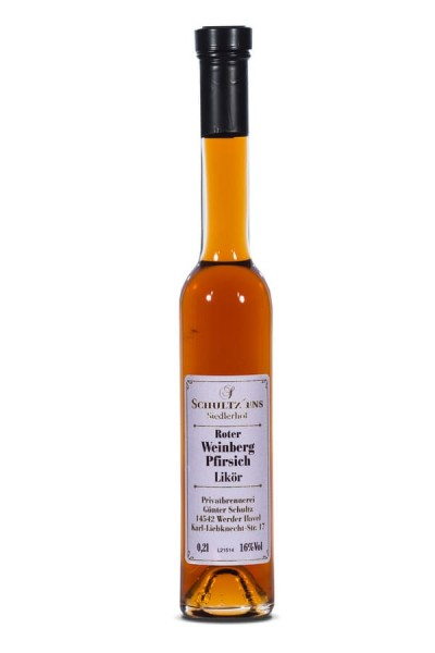 Roter Weinbergpfirsich Glina Whisky