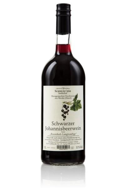 Schwarze Johannisbeer Wein Glina Whisky