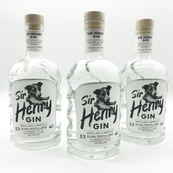 Sir Henry Gin | 3er-Paket | 0,7 L