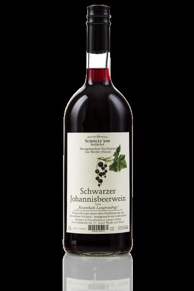 Schwarzer Johannisbeerwein