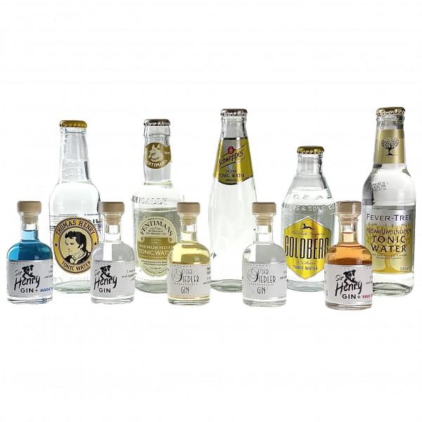 Online-Tasting | 19.06.2021 | 5x Gin-Samples (4cl) & 5 Tonics