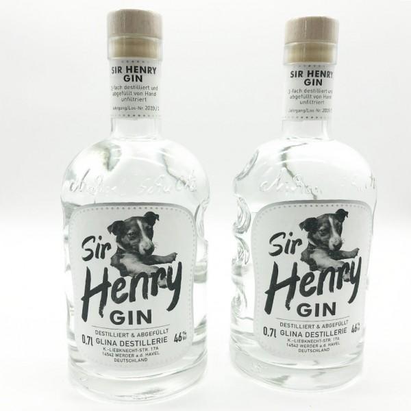 Sir Henry Gin | 2er-Paket | 0,7 L