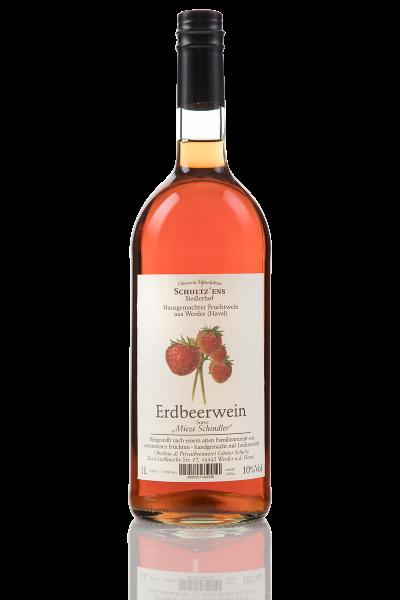 Erdbeerwein