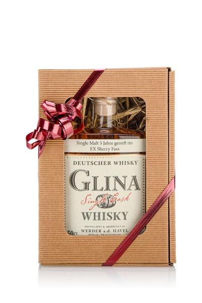 Glina Whisky 5 Jahre in Geschenkverpackung