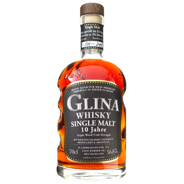 Glina Whisky 10 Jahre Triple Cask | Fassstärke