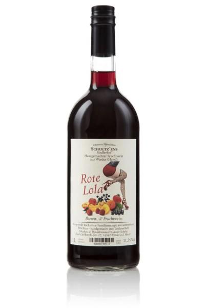 Rote Lola Wein Glina Whisky