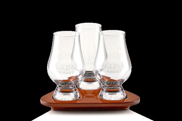3 Glencairn Gläser Tasting Set