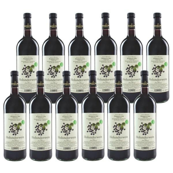 12x Holunderwein