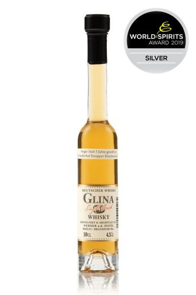 Knupperkirschwein-Fass 0,1 Glina Whisky Vorderseite