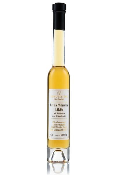 Whiskylikör mit Haselnuss & Honig
