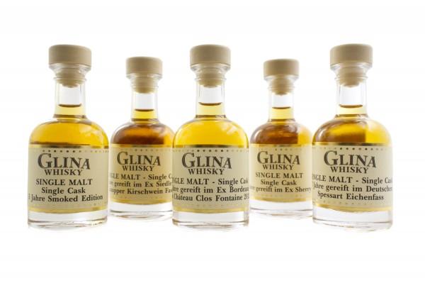 Glina Whisky | Samples No.1 | 5x 4cl