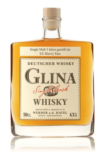 Sherry Fass 0,5 Glina Whisky Vorderseite