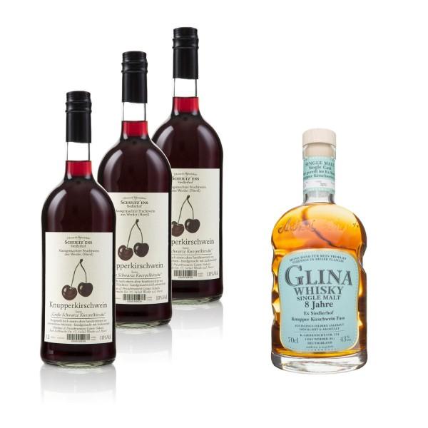 """Knuppi Paket"" | Whisky & Obstwein Paket No. 1"