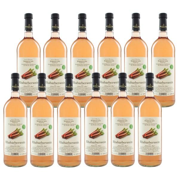 12x Rhabarberwein